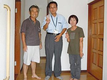 担当者の大滝さんも、工事を担当してくれた職人さんも、皆さんまじめで親切でした。