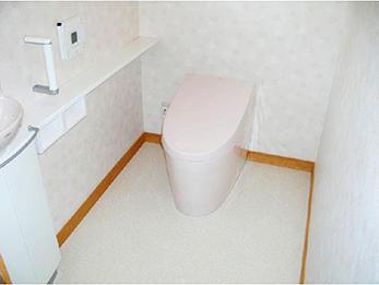 汲み取り式の臭いが嫌っ!友達の呼べる素敵なトイレに