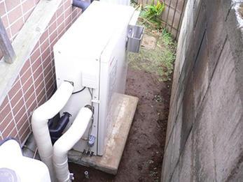 寒い冬に備えて給油機を一新!古くなった配管も入れ替え!