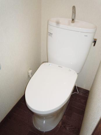漏水対策でトイレを入れ替え!TOTOキレイ除菌水で清潔に